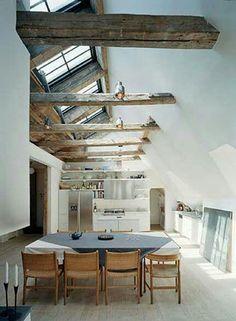Dach Esszimmer