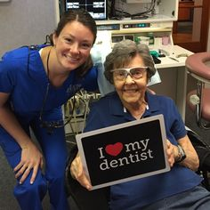 We are lucky to have such great patients! #parkridgedentist