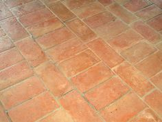 Indoor/outdoor quarry floor tiles HANDMADE TERRACOTTA Antique Terracotta Collection by B