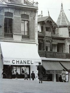 Chanel Boutique de Biarritz More on Chanel, visit espritdegabrielle.com