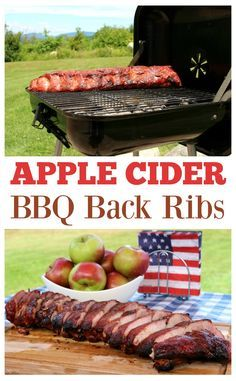Apple Cider BBQ Back Ribs Recipe! Get the recipe for these apple cider back ribs on the blog: http://scrappygeek.com/apple-cider-bbq-back-ribs/ #HogWildThrowdown ad @walmart