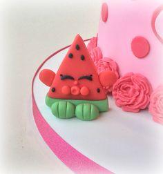 'Melonie Pips' Shopkins fondant cake decoration......