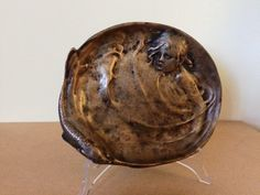 Secesyjna popielnica, Łopieńscy (600) 19x16cm