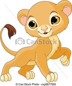 leão filhote desenho - Google Search