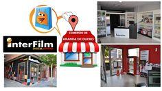 Interfilm, tienda de servicios fotográficos en Aranda de Duero. En Interfilm llevamos más de 30 años de servicio, estando a tu lado, ofreciéndote el mejor servicio en fotografía, siempre trabajando con la  tecnología de vanguardia y adaptándonos a la evolución del mundo fotográfico y de la impresión. Por todo ello y por más nos hemos convertido en el referente nacional de nuestro sector.