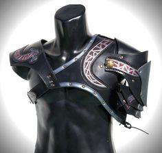 Coraza de cuero Leather chest