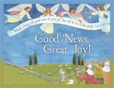 Free resources coordinated to Christmas book Good News, Great Joy! Tons of printables, Children's Christmas Services, sheet music, original scores, a video, Powerpoint and MORE!