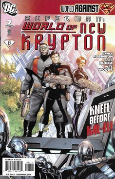 8c1277df9c Details about Superman Comic Issue 7 World Of New Krypton Modern Age First  Print 2009 Robinson