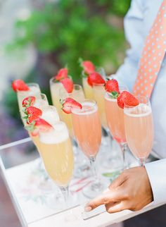 Strawberry cocktails: Photography: Michelle Beller - http://www.michellebeller.com/