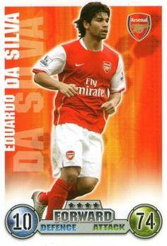 2007-08 Topps Premier League Match Attax #12 Eduardo da Silva Front