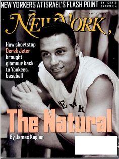 New York magazine, April 7, 1997 Photo of Derek Jeter by Jesse Frohman Design director: Robert Newman Photo director: Margery Goldberg