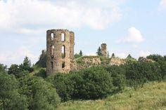 Plaveč Castle ruins. Slovakia
