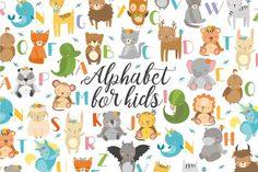 Hi! Use my alphabet with animals for art projects, prints, invitations, postcards, wallpaper, scenery, posters, bags, wallart, logos, quotes, blogs, website, banners