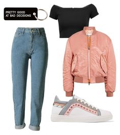 """""""Untitled #4"""" by oblomova1 on Polyvore featuring Alice + Olivia, Acne Studios, Sophia Webster and Various Projects"""