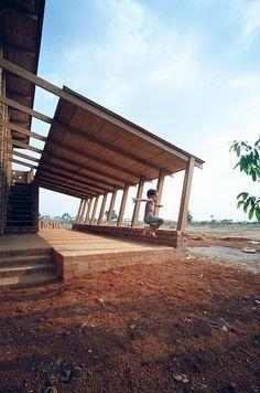Sra Pou vocational school , Oudong, 2011 - Rudanko + Kankkunen Architects