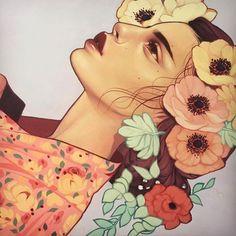 by Kelsey Beckett Illustration heart hangulatjel