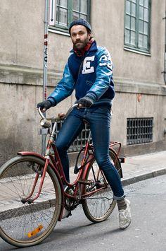 Copenhagen Letterman Cyclist