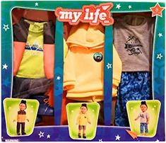 boy my life doll My Life, Lunch Box, Dolls, Amazon, Amazons, Riding Habit, Puppet, Amazon River, Bento Box