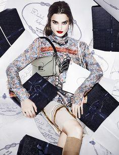 visual optimism; fashion editorials, shows, campaigns & more!: blanca padilla by matt irwin for vogue spain february 2015