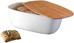 Berghoff Bamboo Fibre Bread Bin In Natural
