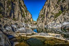 Vasques et piscines naturelles calcaire