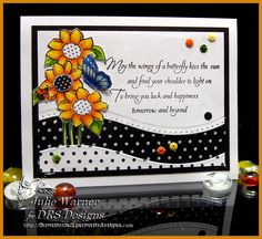 Flowers+&+dots+cards+colored+with+Copics+-+DRS+images,+Spellbinders+dies