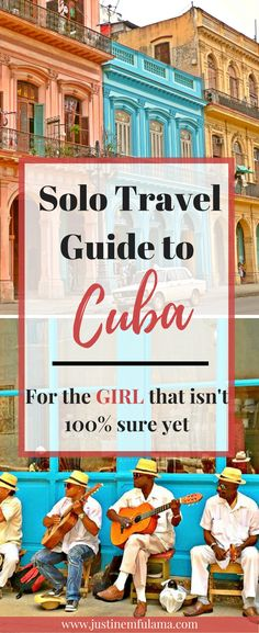 Find out how to travel the island. Where to stay, what to eat and what to expect of Cuba in my solo travel guide to Cuba for female travelers. #travel #Cuba #Havana #solotravel