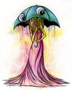 Brella by Alex Pardee
