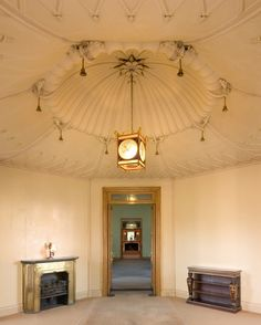 Interior of The Royal Pavilion, Brighton, East Sussex: The Octagon Hall