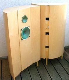 Open Baffle Speakers, Horn Speakers, Diy Speakers, Stereo Speakers, Audio In, Hifi Audio, Art Of Noise, Speaker Box Design, Sound Speaker