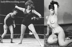 Retro Vintage 50s Jananese Women Schoolgirls Wrestling FANTASY REALITY SEX