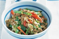 Mince Recipes, Stir Fry Recipes, Low Carb Recipes, Lamb Stir Fry, Easy Family Dinners, Weeknight Dinners, Easy Meals, Healthy Stir Fry, Chinese Cabbage