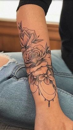 Unterarm verlassen diy tattoo - diy tattoo images - diy tattoo i Forearm Tattoos, Body Art Tattoos, New Tattoos, Girl Tattoos, Sleeve Tattoos, Girly Sleeve Tattoo, Tatoos, Female Arm Tattoos, Tattoo Diy