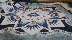 Glacier Star, Quiltworx.com, Made by Charlene, Taught by CI Sandy Lueth