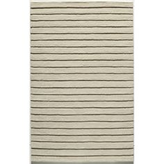 Momeni Manhattan Shingle Wool Area Rug (5' x 8') (Ivory Rug), Size 5' x 8'