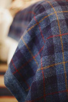 American City - Harris Tweed Bedspread