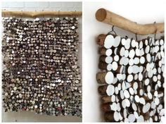 Great idea, mirror tapestry made out of mirror and wooden pieces - 13 Amazing Ideas How to Reuse Your Broken Mirror