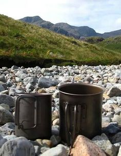 Coffee in the mountains is the best coffee shop around.  #microadventure #mountain