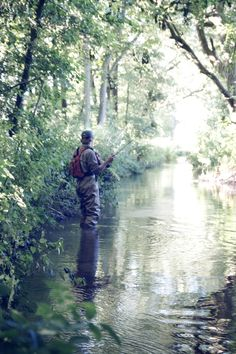 Small stream fly fishing.  Love it.