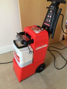 Another gleaming review for the Rug Doctor machine!