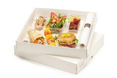 To go food presentation box