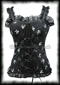 corset top  #fashion #skulls - lace bra lingerie, lingerie en ligne, achat lingerie *ad