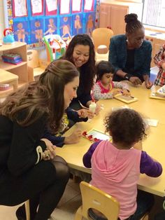 duhesskate: Cambridge Tour of USA, December 8, 2014-The Duchess of Cambridge and New York First Lady Chirlane McCray sat and talked with some of the children during their visit to the Northside Center for Child Development