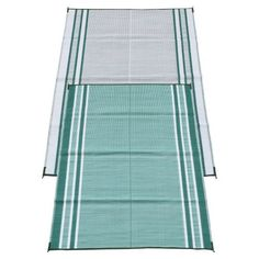 Fireside Patio Mats Mossy Teal Green 6 ft. x 9 ft. Polypropylene Indoor/Outdoor Reversible Patio/RV Mat by Fireside Patio Mats. $34.99. Spruce up your tired deck or patio with this durable patio mat. 100% Polypropylene plastic resists stains and is easy to clean. Durable UV-stabilized material resists fading and withstands seasonal changes. Reversible design provides 2 complimentary patterns for one low price. Corner tie-down loops to stake mat to ground in windy conditions (...