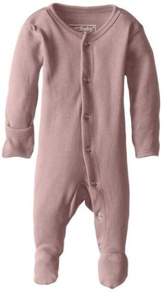 L'ovedbaby+Organic+Thermal+Gloved-Sleeve+Overall+-+Mauve