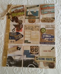 Travel Pocket letter by Terri Panone