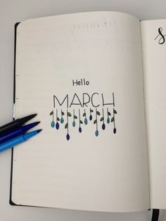 March title page