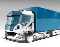 """Check out new work on my @Behance portfolio: """"truck"""" http://be.net/gallery/54898027/truck"""