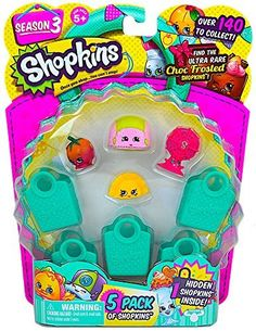 Shopkins Season 3 (5 Pack) Set 57 *** This is an Amazon Affiliate link. Check this awesome product by going to the link at the image.