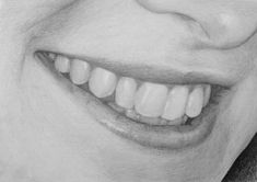 Delineate Your Lips Sourire - How to draw lips correctly? The first thing to keep in mind is the shape of your lips: if they are thin or thick and if you have the M (or heart) pronounced or barely suggested. Bird Drawings, Art Drawings Sketches, Realistic Drawings, Easy Drawings, Pencil Drawings, How To Draw Realistic, Art Illustrations, Teeth Drawing, Drawing Faces